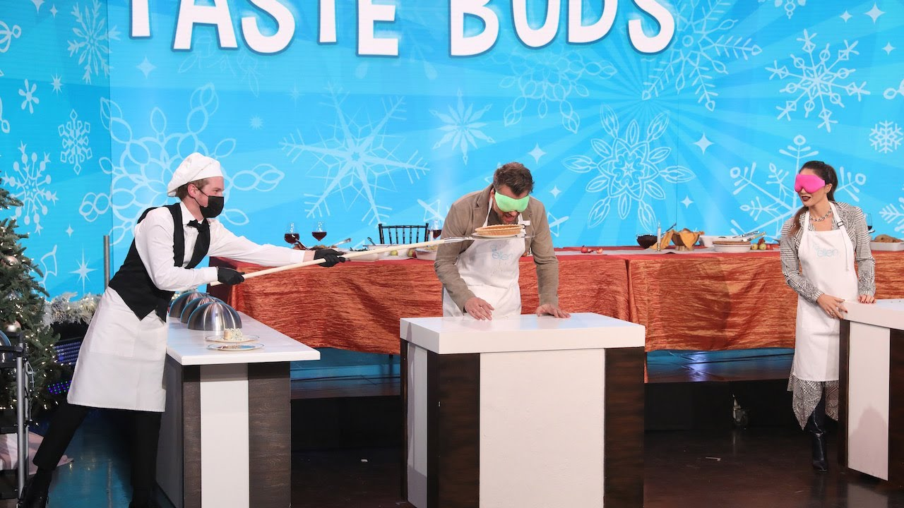 Josh Duhamel and Olivia Munn Get Competitive in 'Taste Buds'