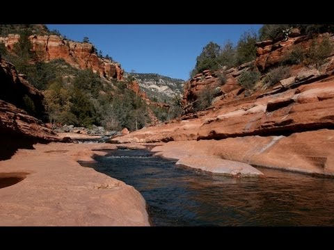 A visit to slide rock in oak creek canyon youtube for Cabine vicino a slide rock sedona
