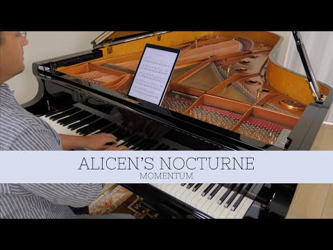 Alicen's Nocturne - David Hicken (Momentum) Piano Solo