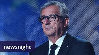 Are the European Commission's expenses reasonable? - BBC Newsnight