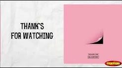 whistle by Black pink lyrics video - Free Music Download