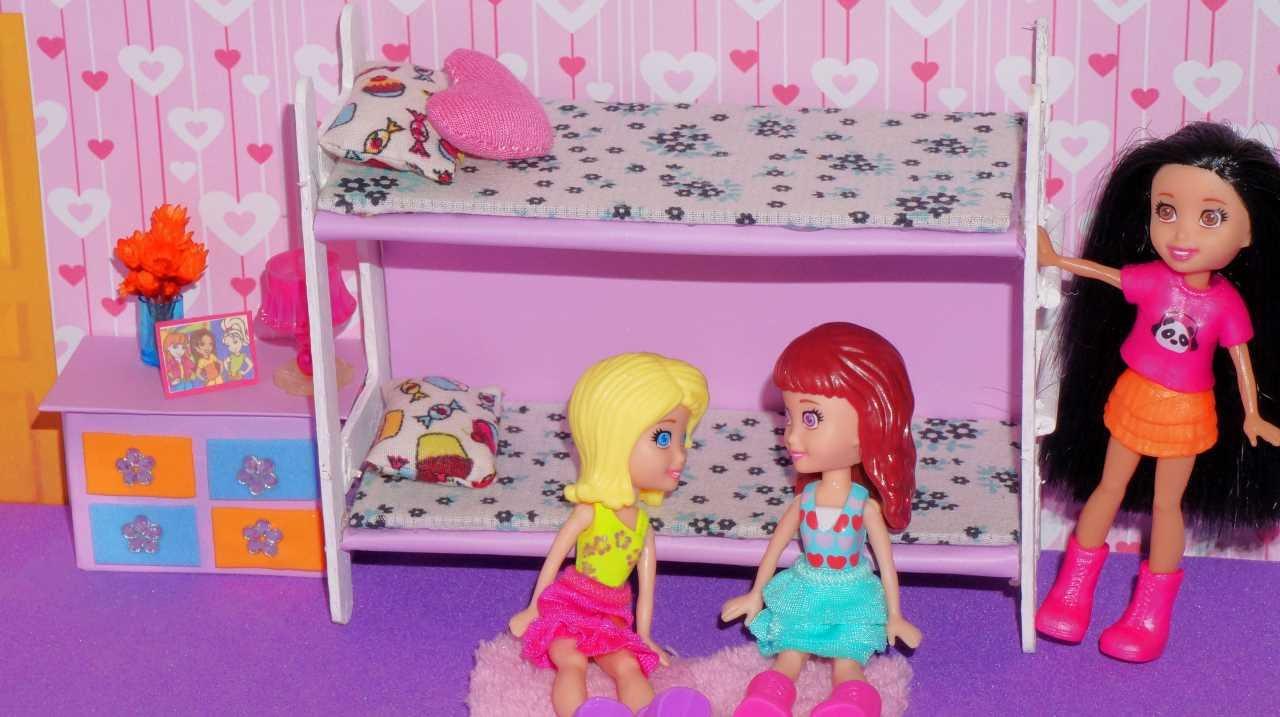 Lalaloopsy Bedroom How To Make Bunk Bed For Mini Doll Polly Princess Lalaloopsy