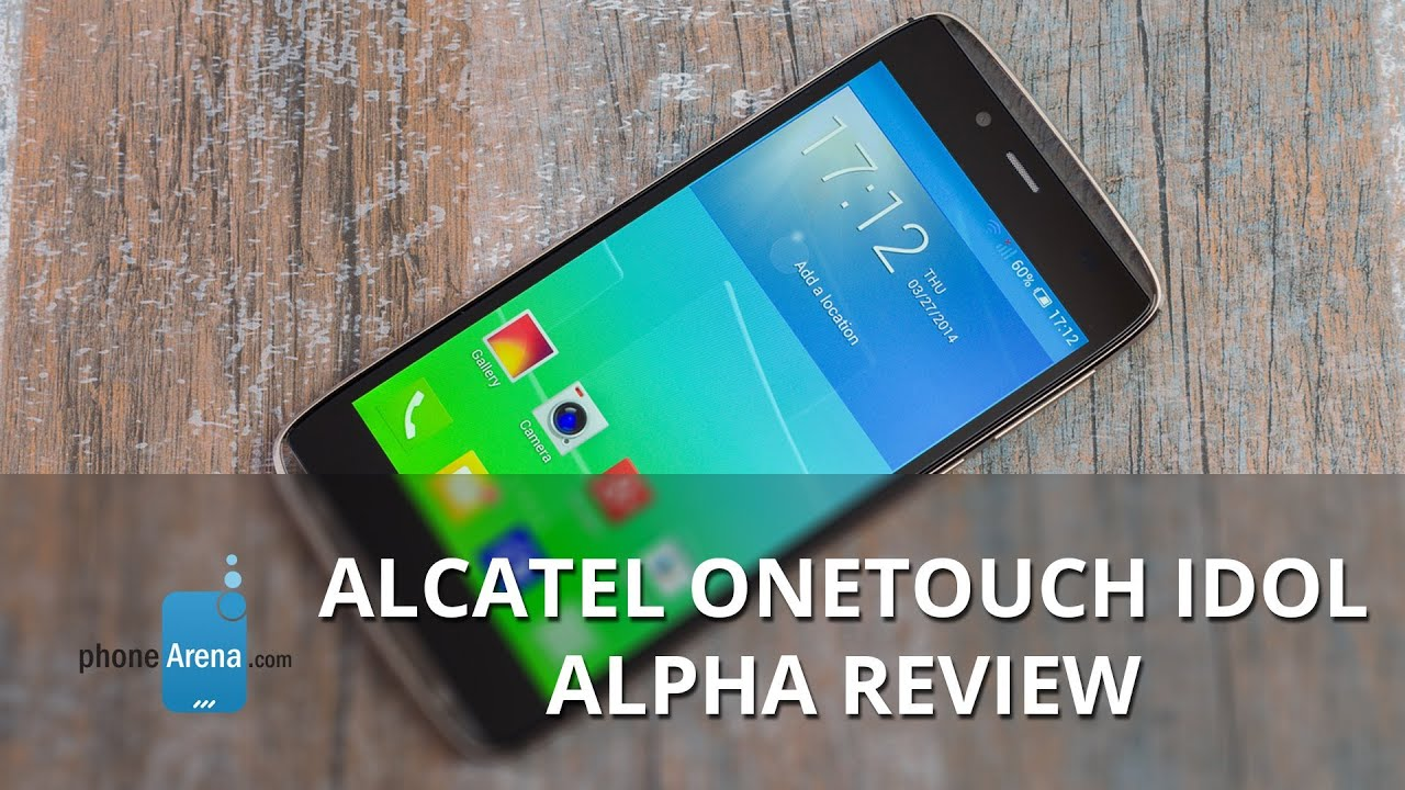 Alcatel OneTouch Idol Alpha - REVIEW
