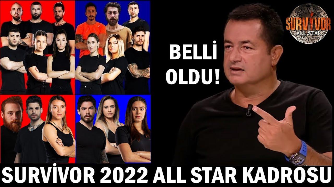 SURVİVOR 2022 ALL STAR YARIŞMACILARI BELLİ OLDU! (EFSANE İSİMLER)