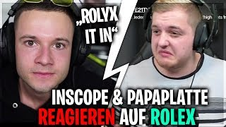 Trymacs REAGIERT auf Inscope & Papaplatte 😂😍 | Trymacs Stream Highlights