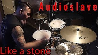 Like a stone - Audioslave (Drum cover) Guitar hero