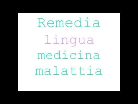 Lingua e psicosi - a cura di Remedia - lingua medicina malattia