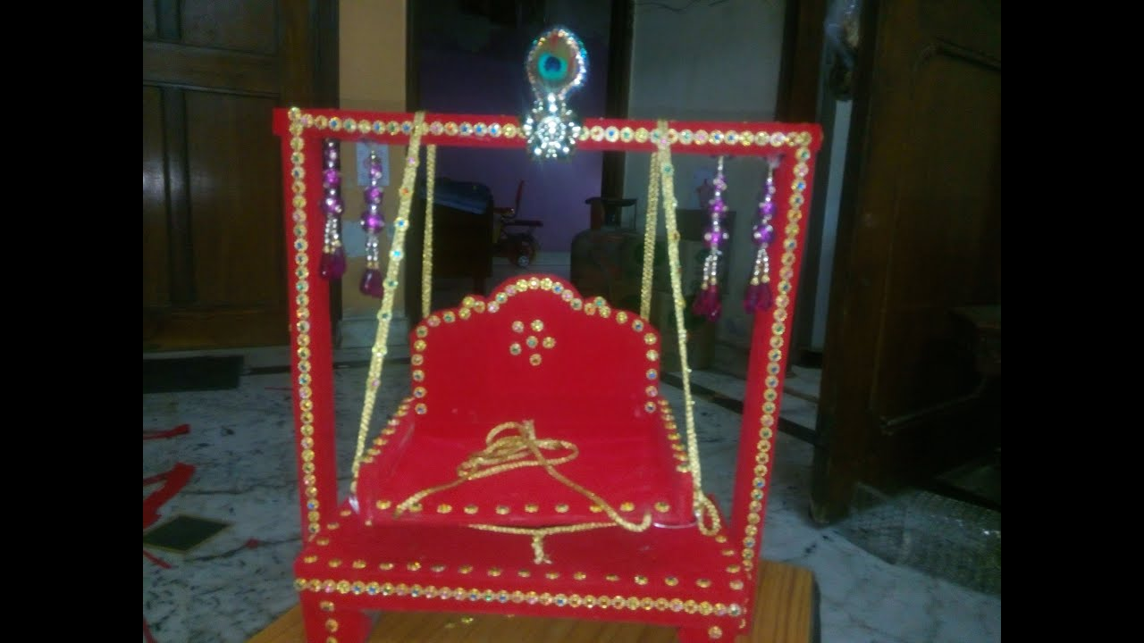 Pure Wooden Jhula / Swing for big size kanahaji Jhula/Swing Idea 2 DIY Make at home YouTube