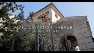 215 Carnation Avenue in Corona del Mar, California