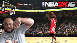 NBA 2K16 Play Now - James Harden Is Cookin