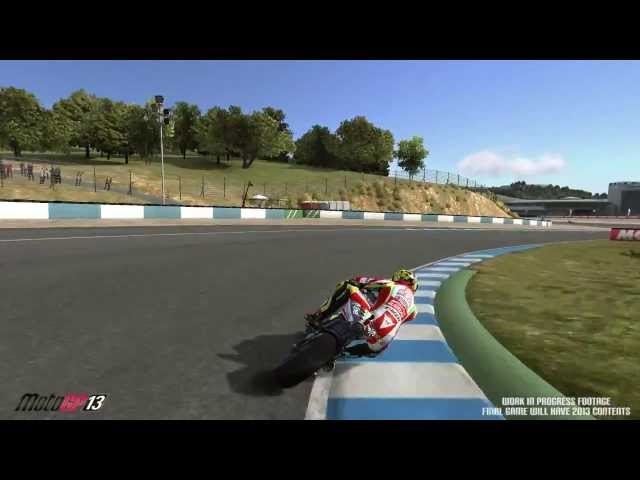 MotoGP 13 Gameplay teaser video 2