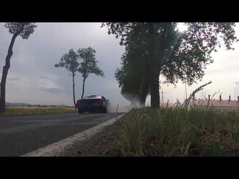 1988 Corvette C4 burnout & drag strip test run