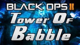 "Black Ops Ii Zombies: ""tranzit Easter Egg"" - ""tower Of Babble"" Maxis Side!"