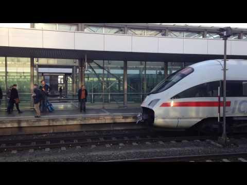 Massive Train crash in Germany (caught on camera)