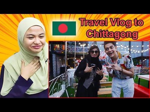 Travel Vlog to Chittagong ǀ Malay Girl Reacts