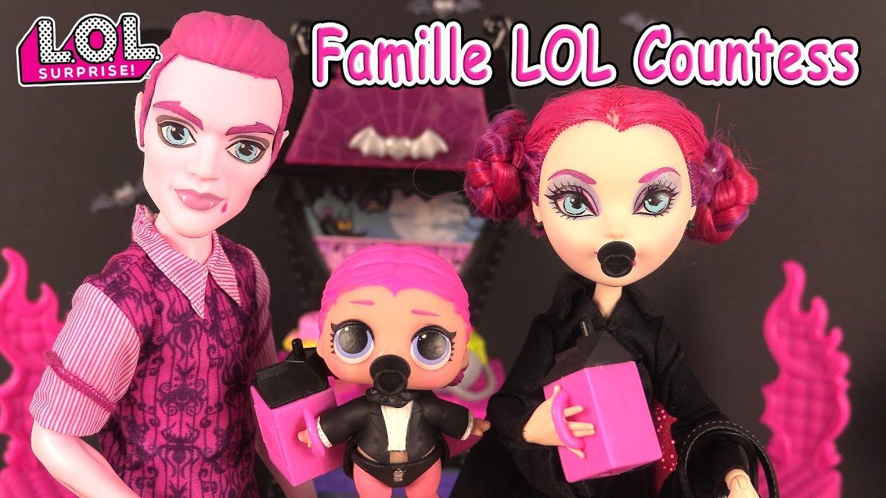 Lol Families The Countess Poupees Lol Surprise Diy Boules