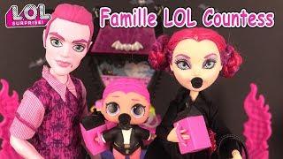 LOL Families The Countess Poupées LOL Surprise DIY Boules Surprises