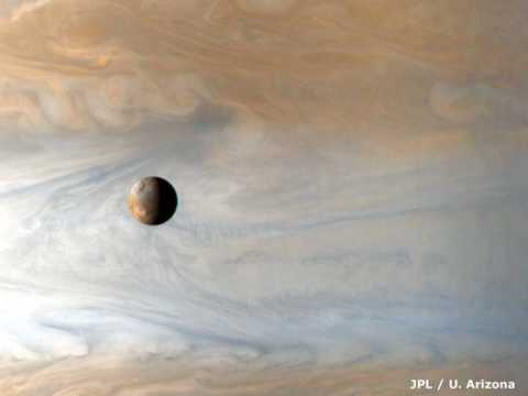 The Sounds of the Jupiter's moon Io
