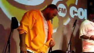 "Raekwon performing ""Ason Jones"" at OB4CL2 album release party at SOBs"