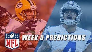 NFL Week 5 Picks (Late Games)