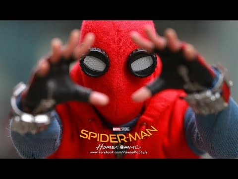 osw.zone preview for the new Hot toys Spider-man Homecoming ( Homemade suit version ) 1/...