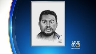 Police Release Sketch Of Suspect Accused Of Looking Into Window, Exposing Self