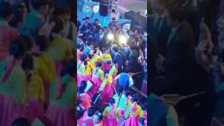 무주 세계태권도선수권대회 개막식후 문재인 대통령님