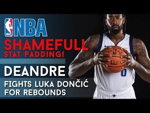 DeAndre Jordan fighting Luka Dončić for rebounds like he was 2017 Wesbrook! 😲