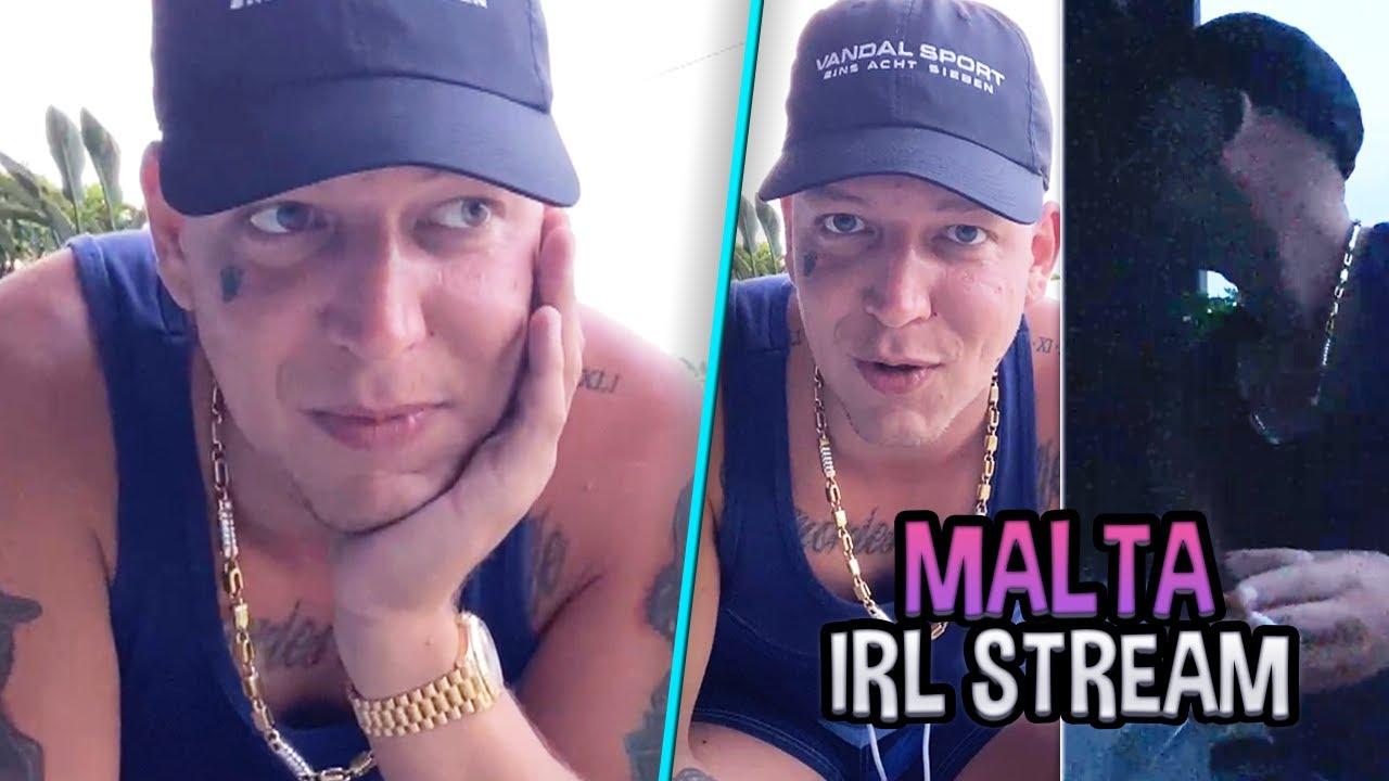 TAG 5 auf MALTA 🌴 Fans RUFEN im HOTEL an! 😂 + Heimweh? | MontanaBlack IRL Stream