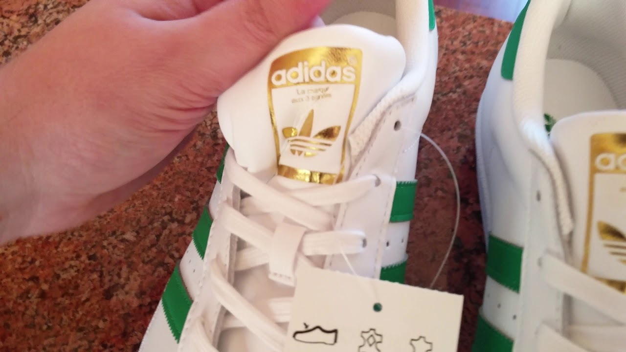 adidas superstar foundation shoes green