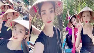 평양민속예술단 베트남해외공연 및 관광모습