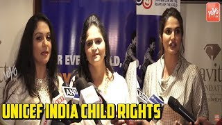 Zareen Khan,Gracy Singh At PC Of Unicef India Child Rights | Unicef India Child Rights |YOYO Hungama
