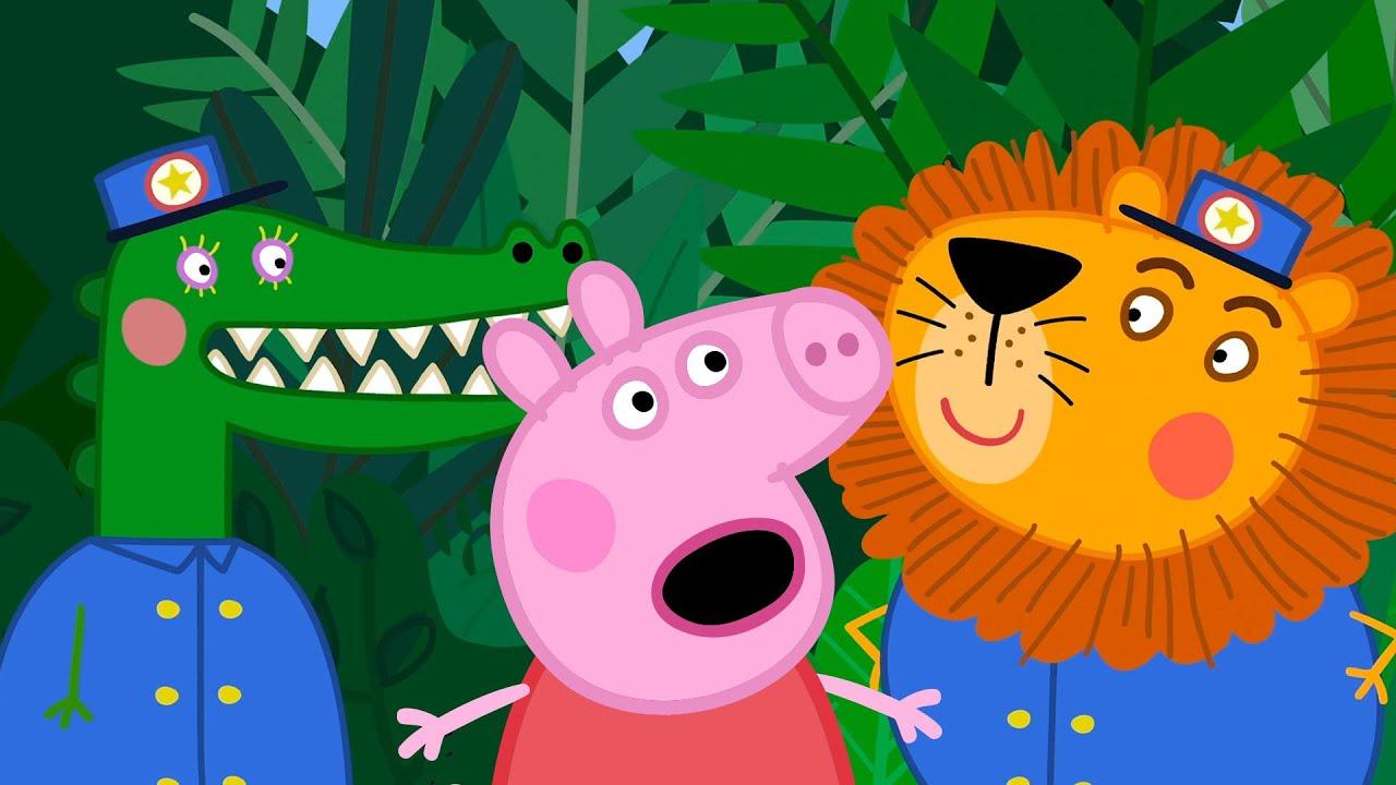 Peppa Pig Português Brasil   Cuidado, Peppa!   Desenhos Animados