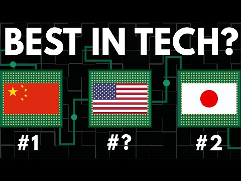 Which Country Has The Best Technology?