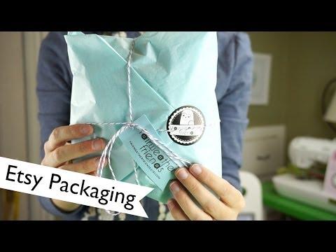 Branding: Etsy Packaging   @laurenfairwx
