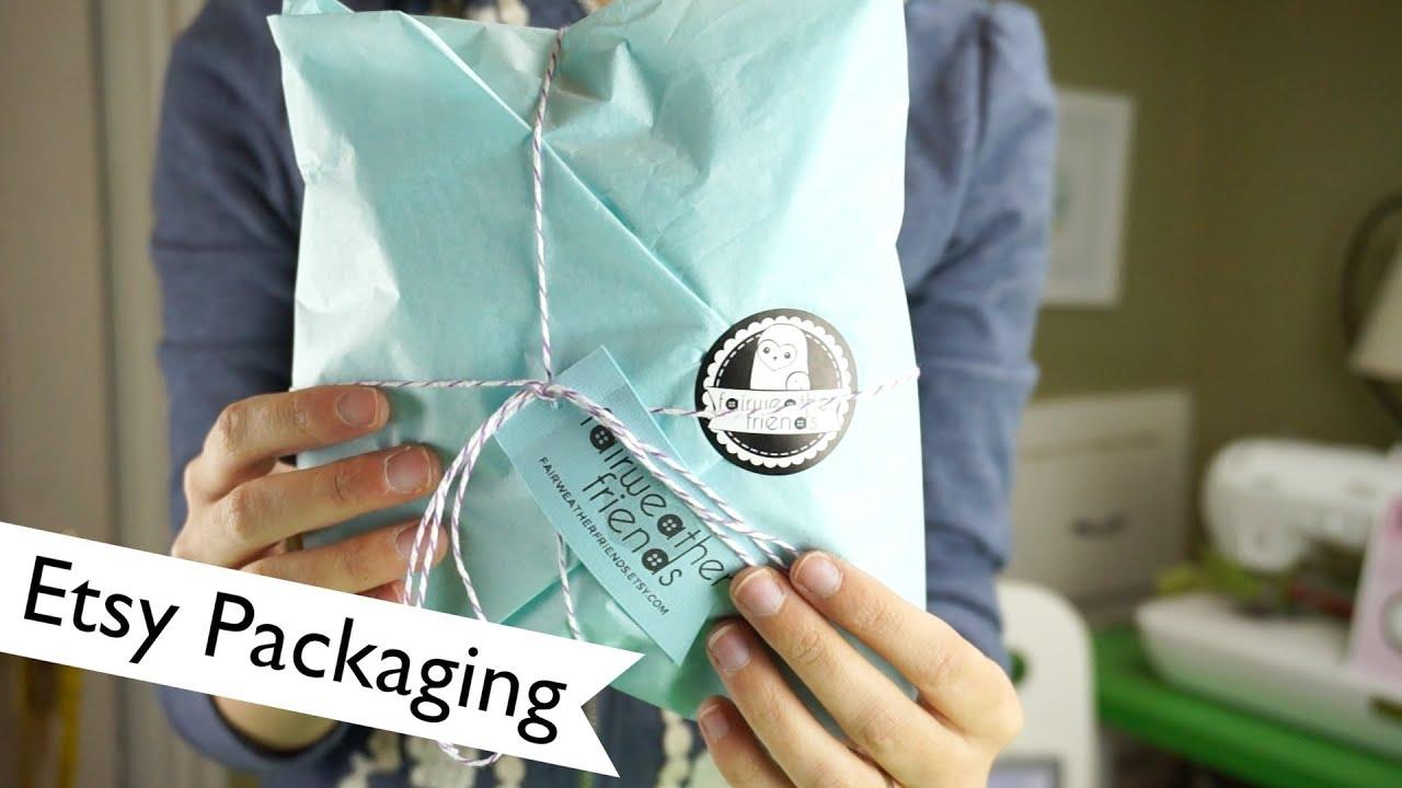 branding etsy packaging laurenfairwx youtube. Black Bedroom Furniture Sets. Home Design Ideas