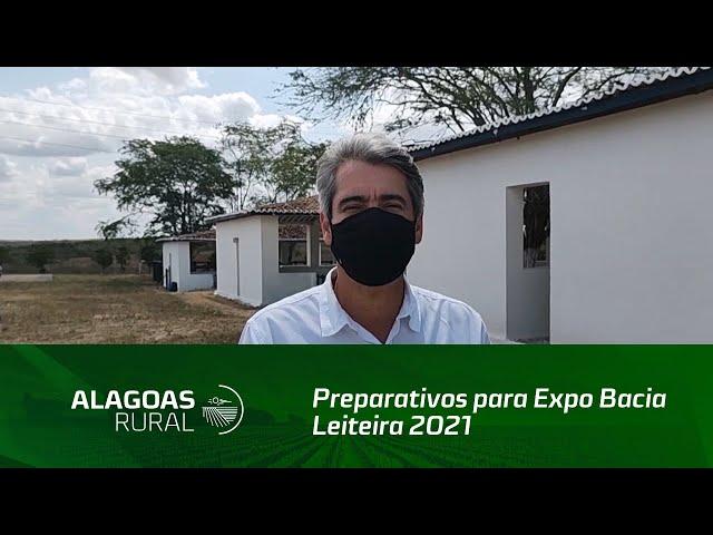 Preparativos para Expo Bacia Leiteira 2021 estão a pleno vapor