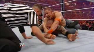 John Cena vs. Batista Wrestlemania 26 Part 3/3 (HD)