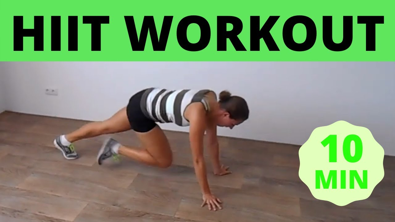 10 Minute Cardio & Strength Combination Workout - At Home No Equipment - YouTube