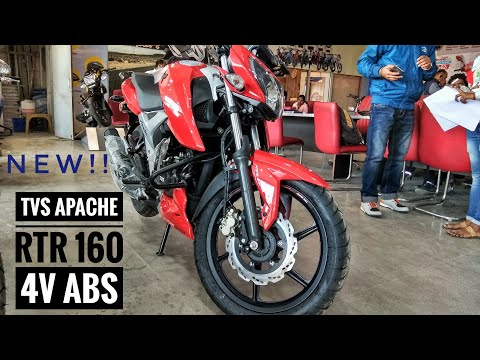 TVS APACHE RTR 160 4V ABS MODEL 2019|DETAILED REVIEW|EXHAUST NOTE|ON-ROAD PRICE|MILEAGE|ENGINE,ETC..