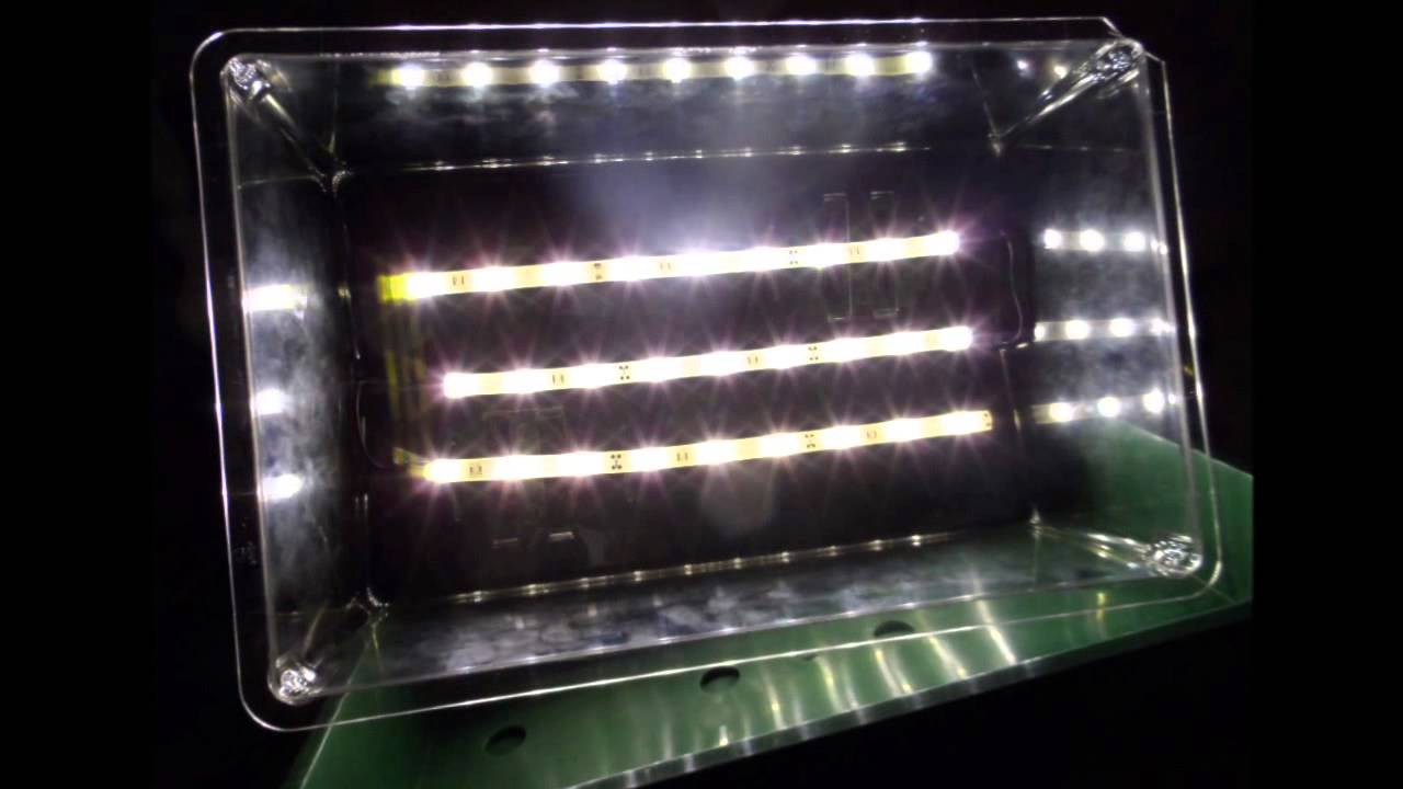 how to modify a seed or clone grow box with led strip youtube. Black Bedroom Furniture Sets. Home Design Ideas