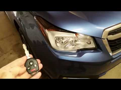 2014 2018 Subaru Forester Testing Key Fob Remote Control After