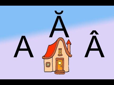 Cantecul alfabetului   Cantecul alfabetului in romana   Cantece pentru copii
