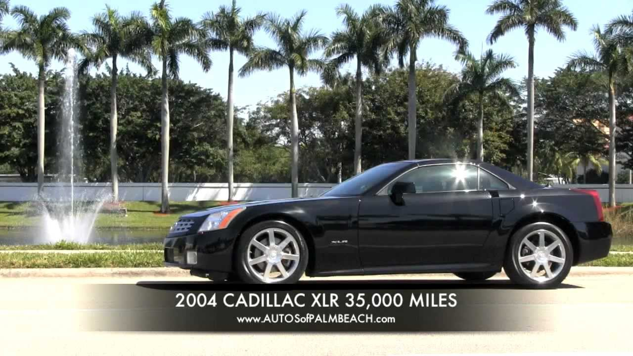 2004 Cadillac Xlr Convertible Roadster Raven Black A2961 Youtube