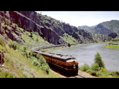 The Great Northern Empire Builder Rail Route