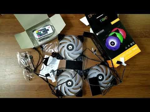 Кулер ID-Cooling DF-12025-RGB Trio (DF-12025-RGB Trio)
