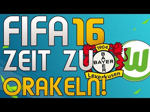 WOLFSBURG vs BAYER 04 LEVERKUSEN - FIFA 16 BUNDESLIGA ORAKEL - Let's Play Fifa Gameplay