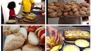 روتين رمضان يوم كامل,الاستعدادات للعيد,,تلاث حلويات للعيد من عجينة واحدة,تعطير المنزل بمكونات طبيعية