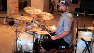 "Chris Adler drum lick lesson ""The Faded Line"""