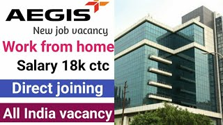 Aegis Work From Home   Permanent Work From Home   Graduate Jobs   Fresher Jobs   Work From Home screenshot 4